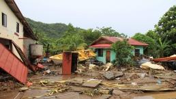 Hurricane Thomas damage