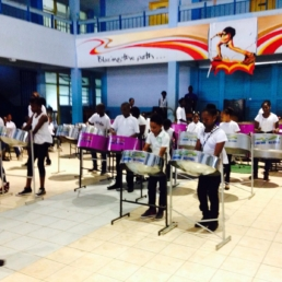 The Georgetown All Stars Steel Pan Orchestra