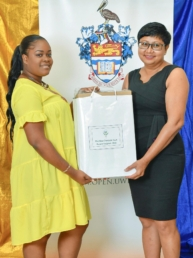 UWI Scholarship Awards – Araya Horne