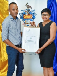 UWI Scholarship Awards – Ashené Peters