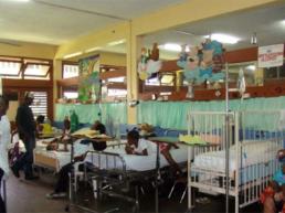 Milton Cato Hospital – Pedatric Ward before refurbishment