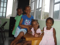 Kianna and friends – St Benedict Childrens' Home