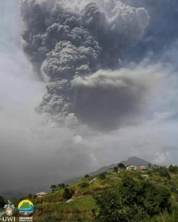 La Soufriere – Second Volcanic Eruption