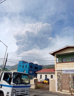 La Soufriere - Second Volcanic Eruption